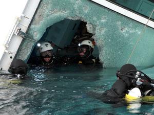 4 detained over Mediterranean shipwreck, 2 bodies found