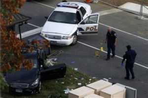 Women dies in shootout in front of the Capitol