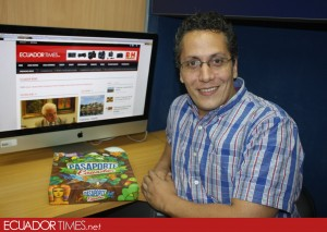 "Diego Falconi Parker creator of ""Passaport Ecuador"""