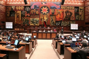 Ecuadorian Assembly members get paid for transportation and housing.