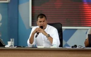 Rafael Corre, President of Ecuador.