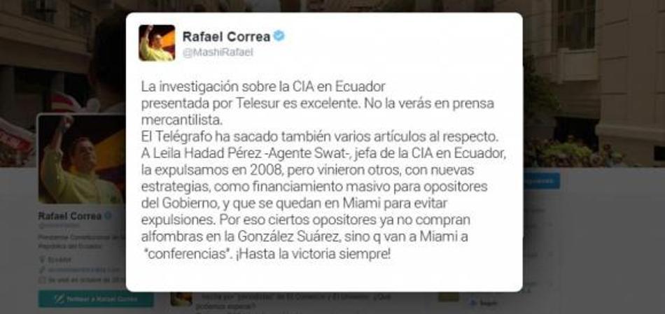 CORREA- CIA-ECUADORTIMES-ECUADORNEWS