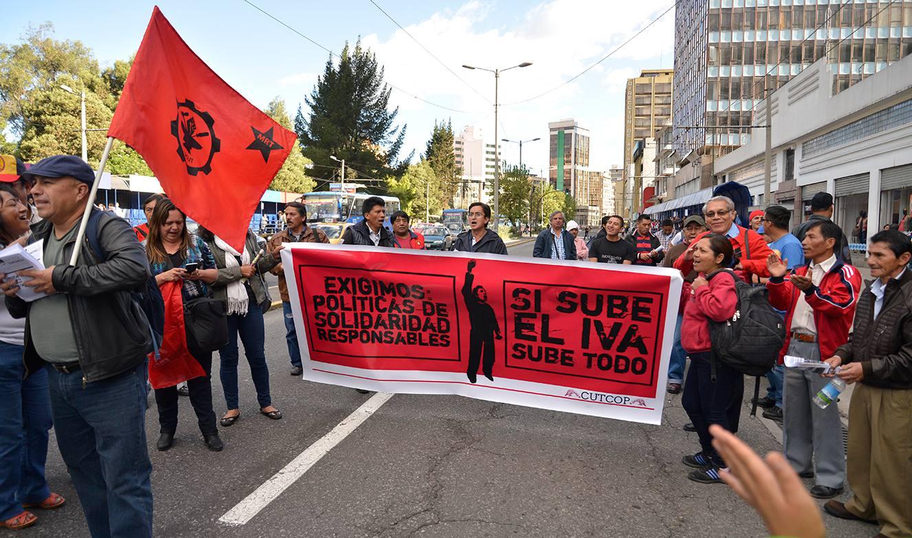 IVA PROTESTAS-ECUADORTIMES