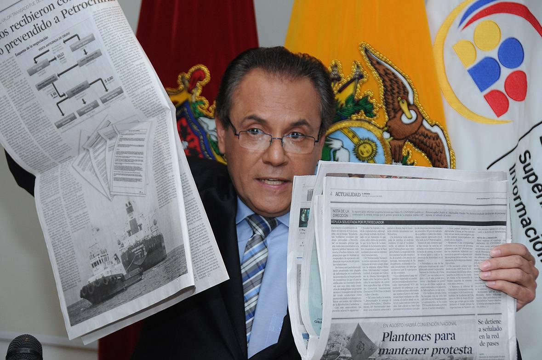 SUPERINTENDENTE- CARLOS OCHOA-ECUADORTIMES-ECUADORNEWS