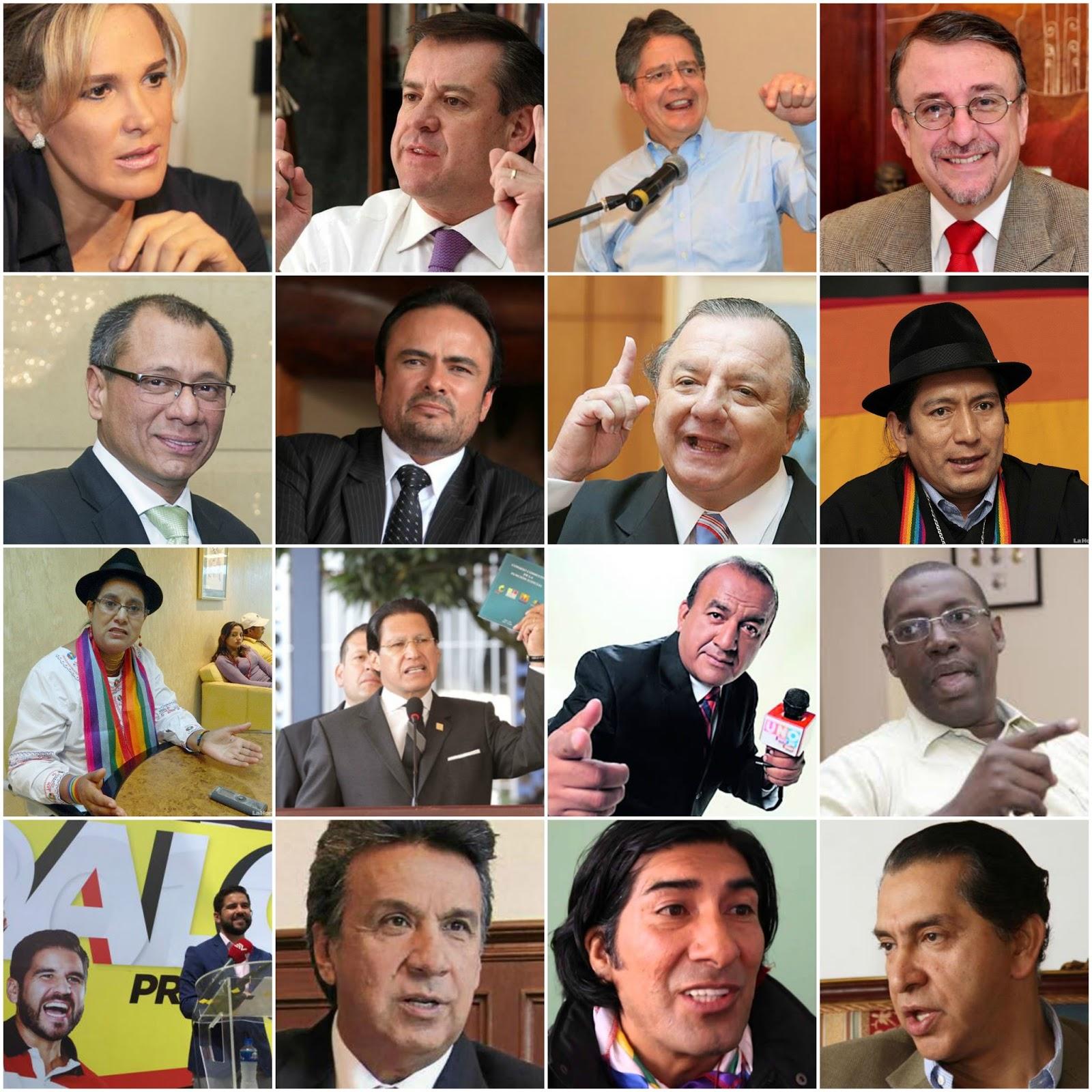 candidatos-presidencia-ecuador-ecuadortimes