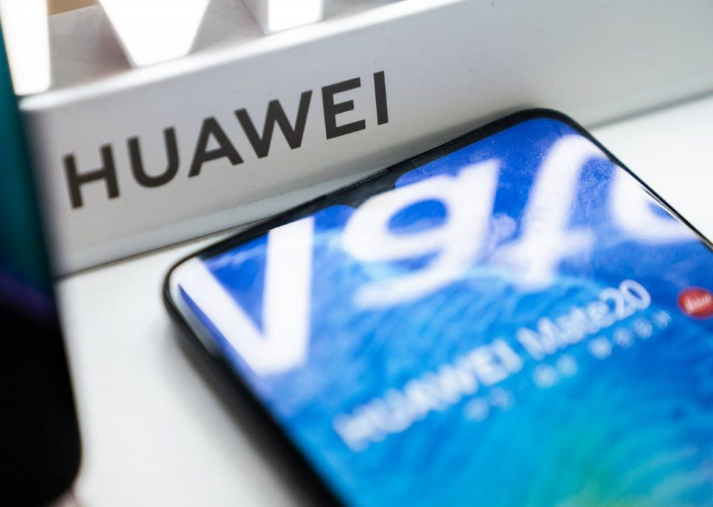 What is the future of Huawei cell phones in Ecuador?