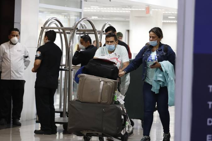 Coronavirus: Selective control in Ecuador focuses on passengers from four countries