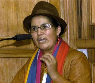 Assembly Lourdes Tibán