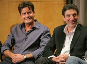 Charlie Sheen and Chuck Lorre
