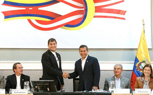 Ecuador signs agreement with Peru