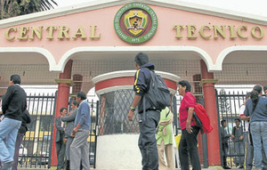 Students of the Central Technical Institute face prison
