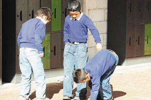 Bullying in classrooms of Ecuador