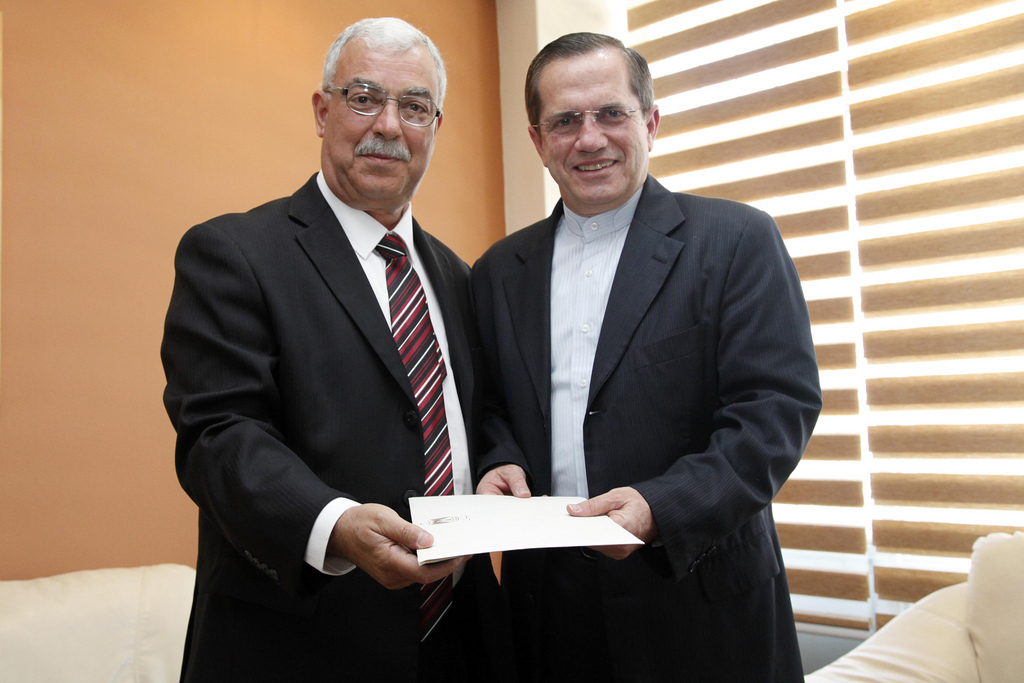 Hani Remawi, first Palestinian ambassador in Ecuador.