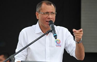 Vice President of Ecuador Jorge Glas