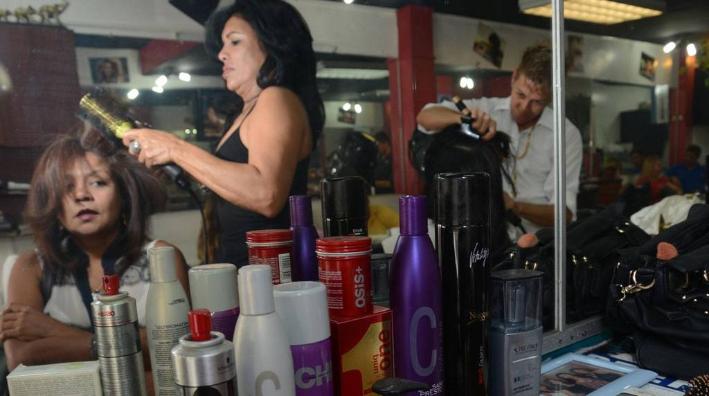 Most hair products used by hair stylists in Ecuador, are imported.