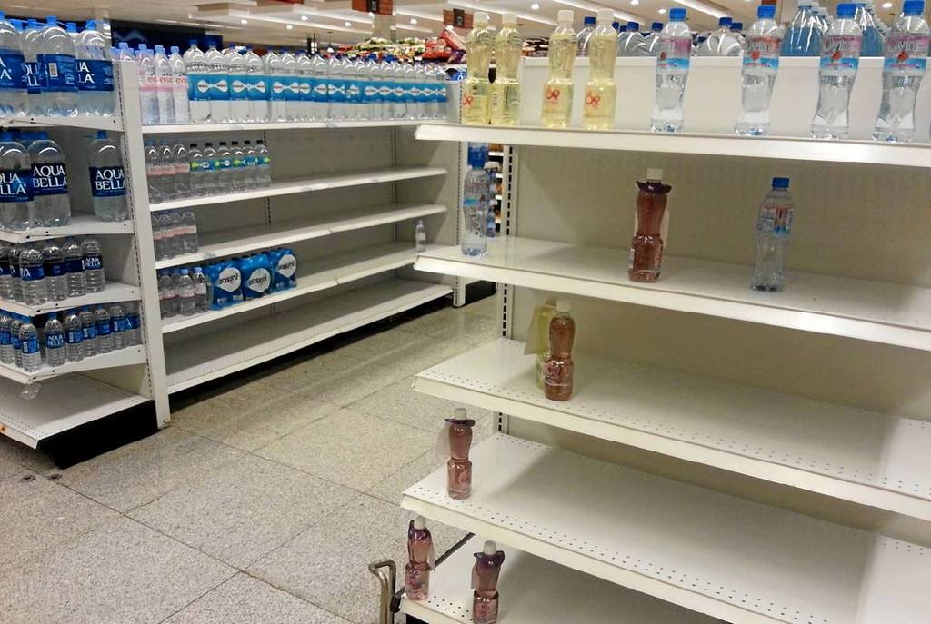 shortage of products