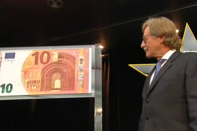 New 10 euros bill