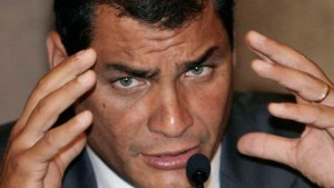 Rafael Correa accepted defeat of his candidate in Guayaquil and Quito