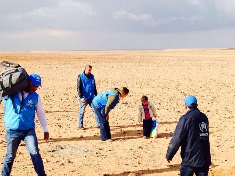 Marwan as he waked through the desert