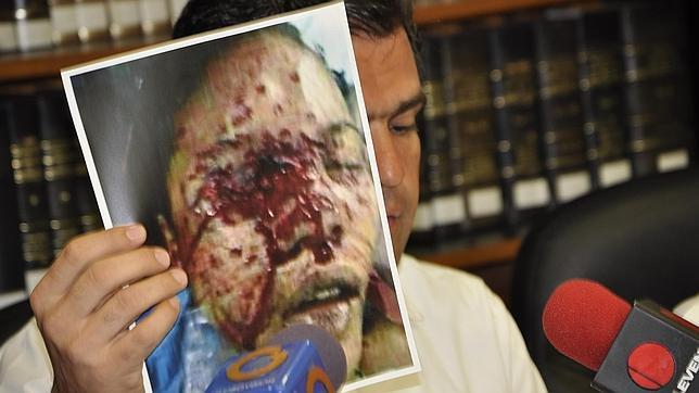 Geraldine Moreno, one of the allegedly tortured students