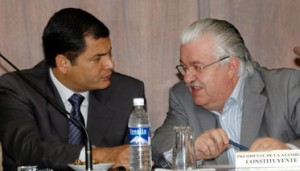 President Correa still does not define replacement for Fernando Cordero in the IESS