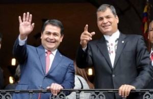 Ecuador and Honduras strengthen relations