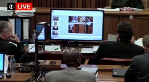 The defence of Oscar Pistorius ensure that evidence was altered
