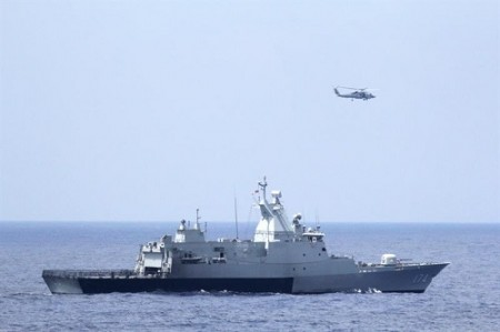 The search of the missing plane has extended into the Indian Ocean.