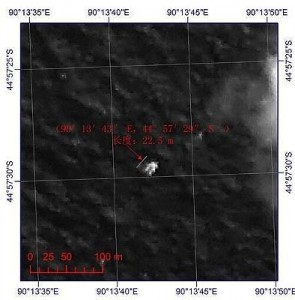 China spreads possible photograph of missing plane