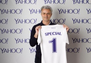 Yahoo Hires Mourinho to discuss the World Cup