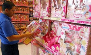 Fair seeks to replace a 25% of imported toys for national