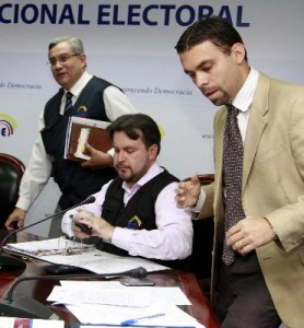 Elections are suspended in Lomas de Sargentillo