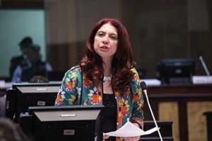 Maria Augusta Calle, new Ambassador of Ecuador at Venezuela