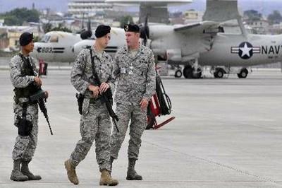 U.S. military personnel must leave Ecuador.
