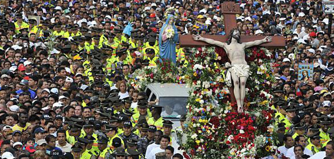 Christ of Consolation's Procession of 2013.