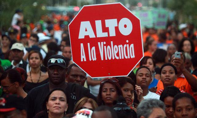 """""""Alto a la Violencia"""""""