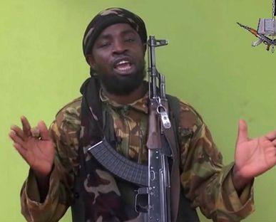 Abubakar Shekau, leader of Boko Haram.
