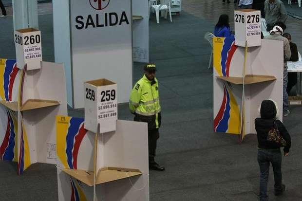 Election campaign ends in Colombia.