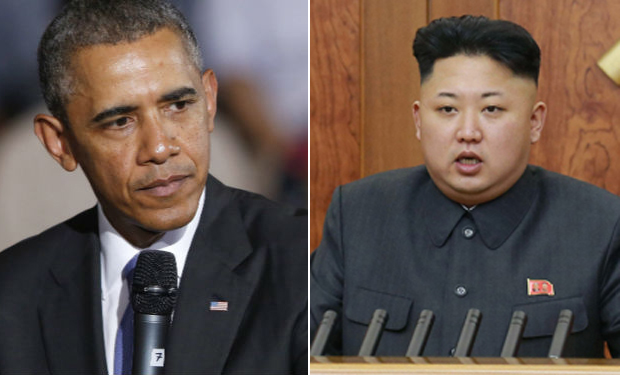 U.S. President Barack Obama - North Korean leader Kim Jong-Un.