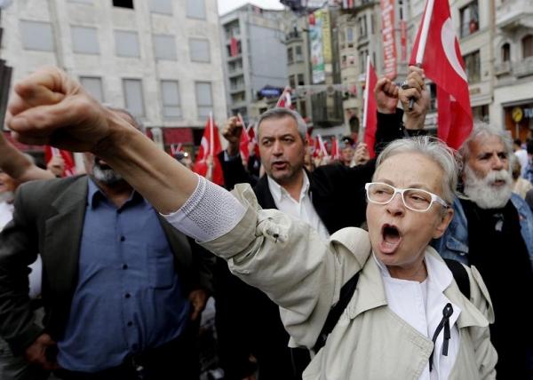 Protests in Soma