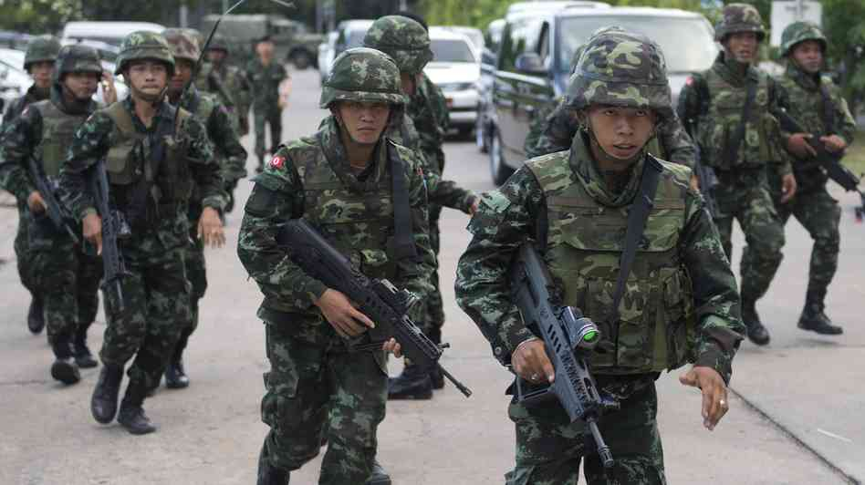 Thai Military Forces take over the country.