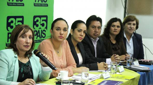 Last week during a Political Workshop at Quito, AP bloc defined that the  proposed amendment would involve at least a dozen changes.