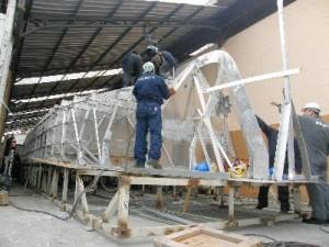 Construcción lanchas de la Armada - megaproyecto de seguridad
