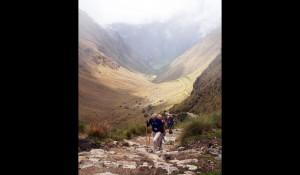 CULT Detalle de un tramo del camino del Qhapaq Ã'an (Camino del Inca)