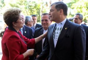Correa-califica-visita-Brasil-exitosa