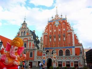 Ganesh-en-Riga-Letonia