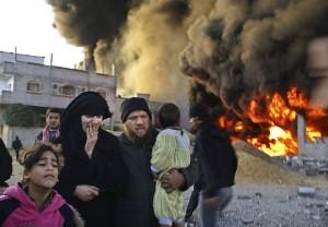 Gaza-ataques-89-muertos-Israel
