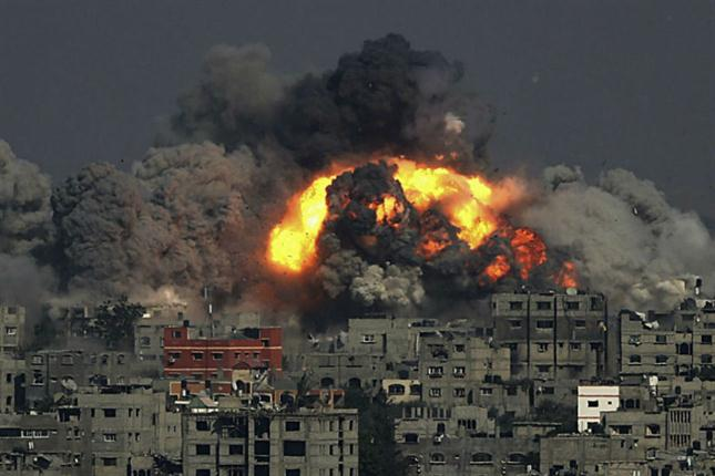 Since the beginning of the Israeli war on Gaza, on last July 8, 1,262 have died, and more than 7,000 have been wounded. Two-thirds of those killed were civilians, including women and children.