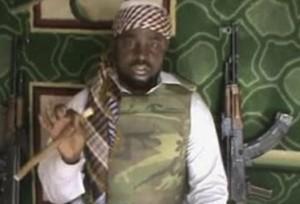 The leader of the Islamist armed group Boko Haram, Abubakar Shekau. AP