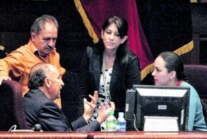 SESIÓN DE LA ASAMBLEA QUE TRATO EL CODIGO FINANCIERO.